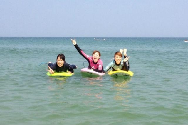国府の浜サーフィン