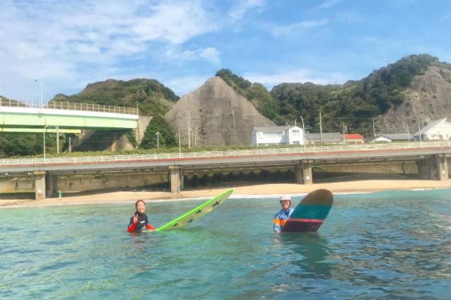 勝浦サーフィン体験