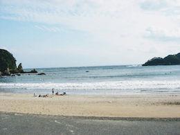 入田浜(いりたはま)サーフポイント